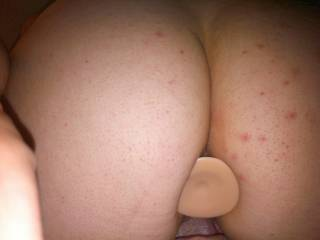 Great shot of those cheeks....I LOVE a naked ass, and yours is cock-hardening!