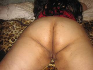 Perfect position to get my cock inside...... ooops I forgot to say what hole......both !