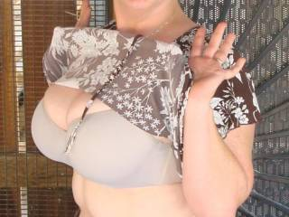 This tease is crying for a follow up, so i will sit back and see whats next. Wanne see more of those nice boobs