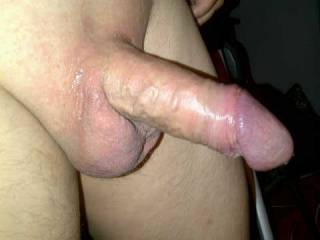 My wife wanted everyone to see my cock right after she had cum hard over and over on it