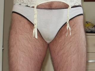 Love my sexy undies, especially pre-worn panties.