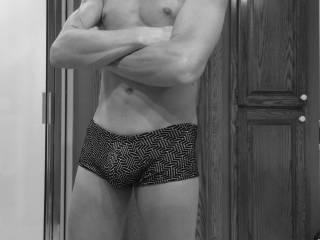 Hubby's new V-day undies