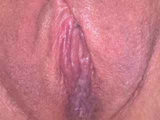 Plump pussy after the first time using my pussy pump