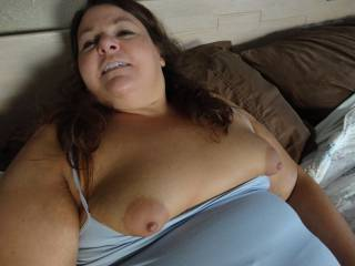Chubby, mature, single milf here looking for attention. Anyone have anything for me?