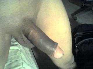 Mmmm....very nice big fat uncut cock. Makes my mouth water and my tight virgin ass pucker.