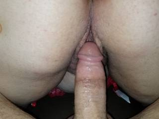 Shot my load deep in her wet tight pussy just another great night with my love