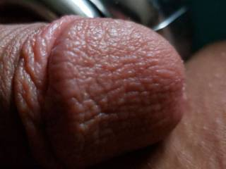 A nice close up of my soft supple cock