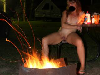We started camping up north about 7 years ago and fell in love with the area. We did several trips every summer, we got away and got naughty. Camping was fun and we had many adventures. Enjoy these hot pics of our trip, who wants to join us this summer?