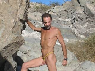 Just enjoying hiking around AZ naked and feeling the warm sun,,,,how about you