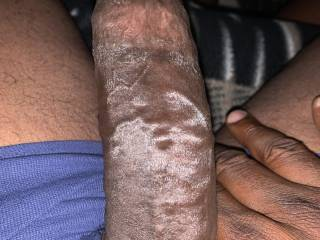 More dirty talk. She loves to play with her pussy