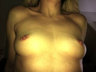 i find that they make my cock hard as a rock, would love to give to a nice tittie fuck and cum all over them.....