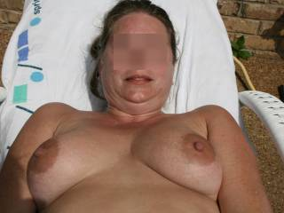 I love big beautiful titties I can not liey I'd love to suck those gorgeous nipples before sliding my stiff cock between those gorgeous globes