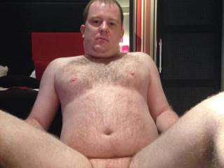 Me looking grumpy and exposing my tiny dick again