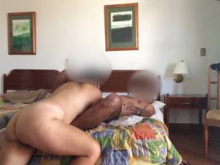 Love to swallow my hot cum, she is so sexy great lover