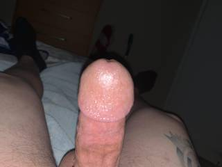 Just waiting on my friends wife to wrap her lips around my cock!