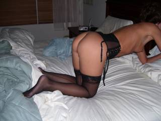 If she is wearing those sexy sheer stockings, I will love her in ANY position!