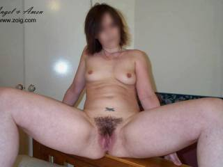 Oh Yeah Baby.  Love your moist hair pussy.mmmmm Love to bury my face between your legs and suck that warm wet pussy in my wanting mouth mmmmmmmm and lick your hard clit till you explode for a huge intense orgasm, drenching my face mmmmmmmmmmmm  You like??