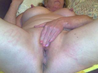 another of my ex girlfriends,, rubbing her pussy while we was away on holiday. Would love to see your cock with her, and covered in your cum...  Mmmm..           ;-)              ;-)                ;-)