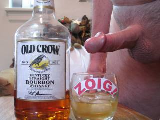 Old Crow and Old Cock - for sipping or slurping.