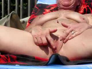 I'd love to be on your deck!!  Suck a beautiful pussy - would you like me to suck it for you and then slide my hard cock deep inside?  Penetrating your sweet pussy would be a wonderful experience.   Love, Art PS - I se those gorgeous tits too!!!