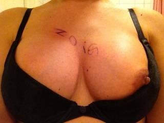 #3 of my boob shots at work