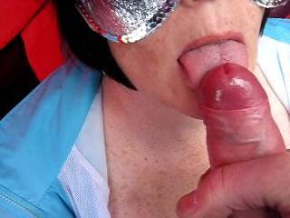 too far to find an ice cream kiosk then? good vid and cum shot.