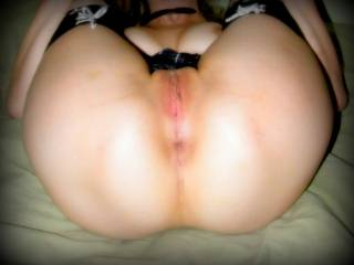 Amazing...massage your butt with my tongue, and start fuck your ass very slow and finished hard...Ms.M