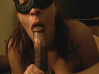 Wow!!!!! That was truly an amazing blowjob! I would love to experience her sexy lips wrapped around my cock licking and sucking it like that!