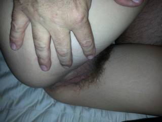 Now that's a beautiful pussy! Absolutely gorgeous! I could lick and suck that pussy all night long! May I?