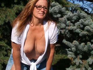 😍😍💗💗  beautiful 💗💗😍😍   The first load over your hot tits and hard nipples, the second big load over your pretty face and glasses😍😍😘💦💦💦💦💦