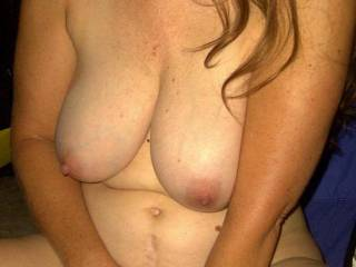 Wish you were cumming all over my face