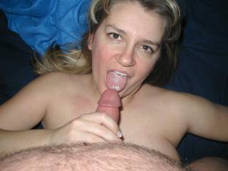 lady if your hubby cum on my wife its a problem x u