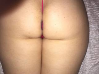 she in bed wanting some...hope you like this ass..