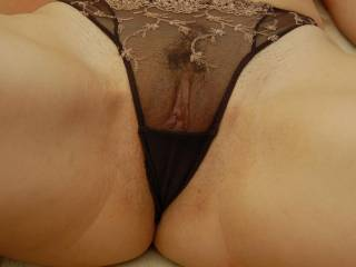 If u lent me these knickers then We can us zoigers look and see how good we could make my cock look any were as good as your pussy