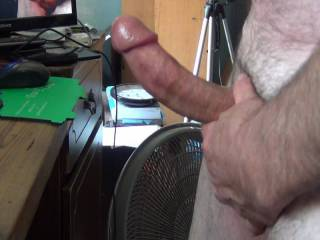 A little warm up time, before my cock cums….