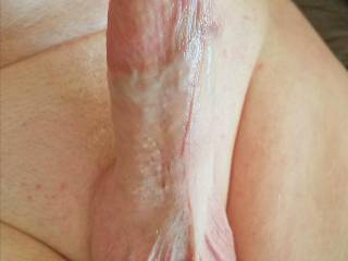 My erect Large thick beautiful, white dick cock and balls