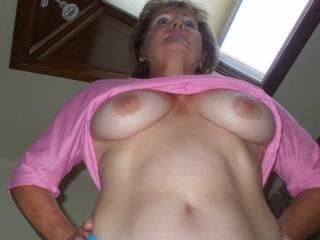 Mrs Blisseekers big tits and tight tummy!!