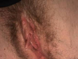 My wife well used pussy