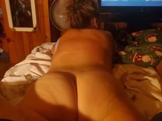 My tjick white girl ass