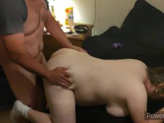 My buddy is taking my wife from behind
