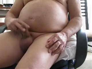Rubbing on my very small, less than 4 inches hard cock