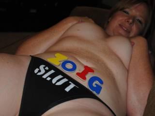 Do you like my new undies?