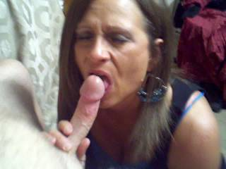 she said she wanted to suck her dick b4 going to work.