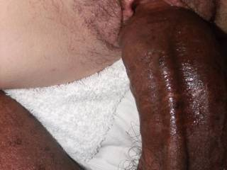 ME GOING DEEP IN THAT YOUNG WHITE PUSSY