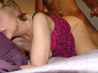 You naughty slut ! I bet your pussy was well stretched ;) very sexy