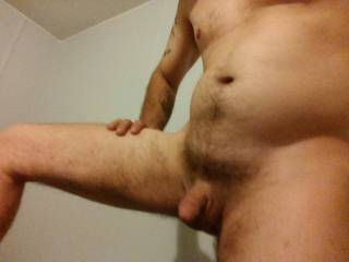 Needing a sexy female to bring him to full attention, and explode wherever u want him to explode on or in u but with a jimmy on(it will take an extra second or two)  in ur beautiful,sexy and delicious tasting pussy, or if ur into it ur backdoor(which I\'m