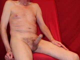 Sitting comfortably erect