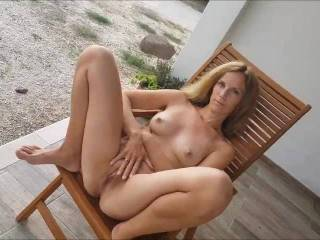 Nice outdoor fun with my girl. She makes me hot and after this we fucked very nice. See the video...
