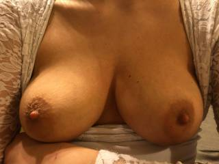 My tits wait your sperm