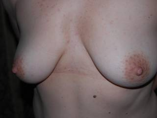 Love to cum and play with those luscious tits and magnificent big nipples!! mmmmmmmmm I want to run my tongue around them so sensuously, teasing, licking them, and nibbling and sucking them so long and erotically, love feeling them get so erect and hard in my mouth mmmmmmmmmmm